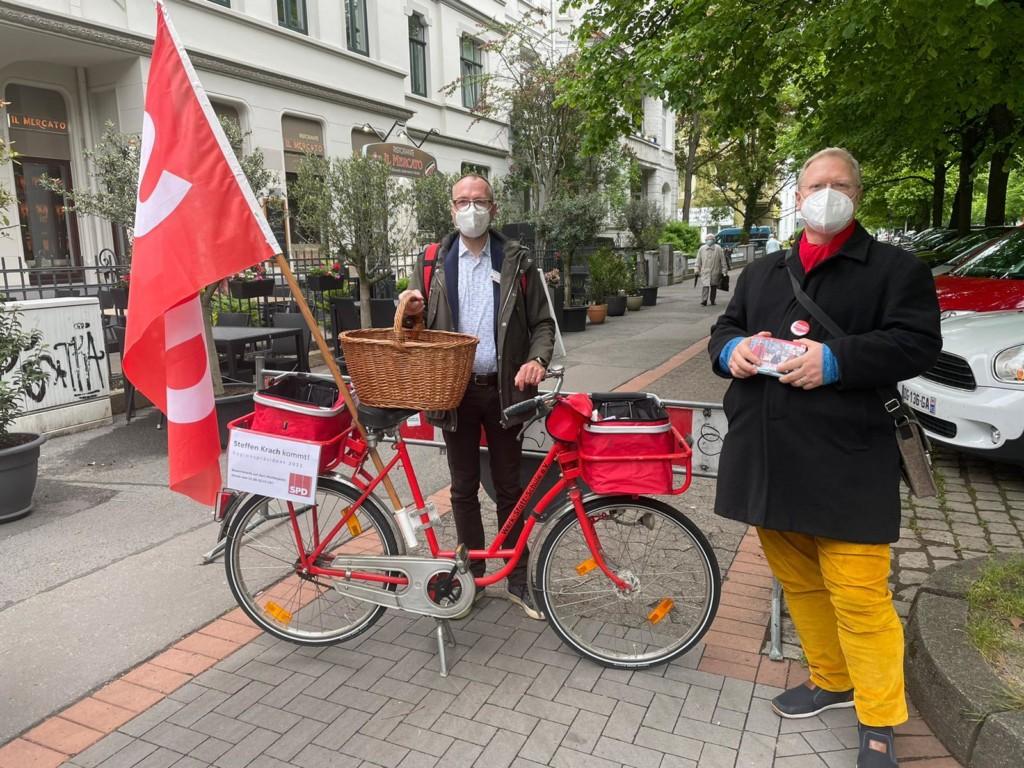 Thilo Scholz und Thomas Bechinie