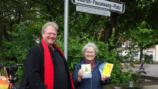 Thomas Bechinie und Irma Walkling-Stehmann (v.l.)