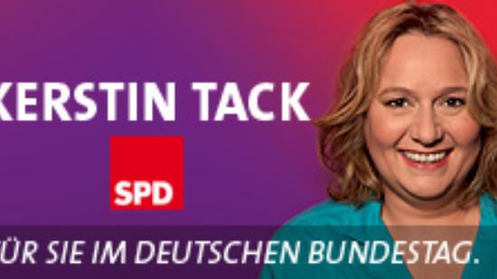 Kerstin Tack - Für Sie im Deutschen Bundestag