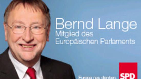 Bernd Lange - Mitglied des Europäischen Parlaments
