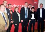 Ortsvereinsvorsitzende mit Stefan Schostok und Stephan Weil